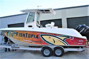 Boat Wraps custom boat vehicle vinyl wrap 300x200